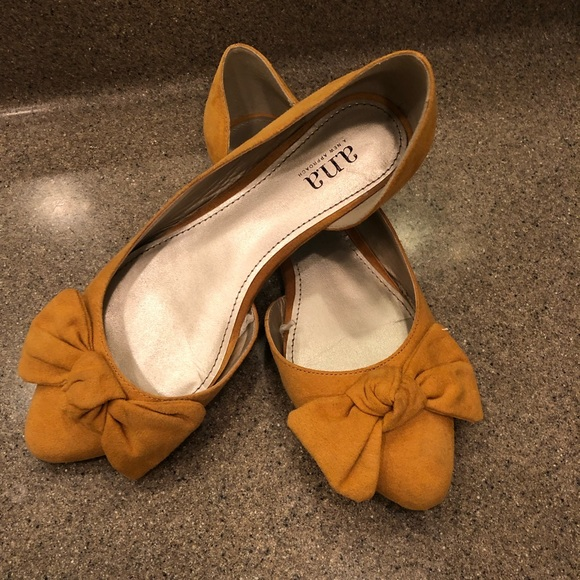 A N A Womens Dorothy Ballet Flats